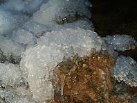 Esclat de formes arrodonides i estalactites pels voltants del Salt del Molí