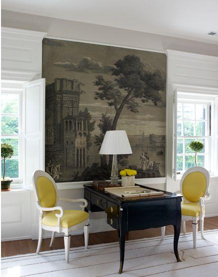 Un blog de decoraci n a mi manera una mini oficina en for Mini casas decoracion