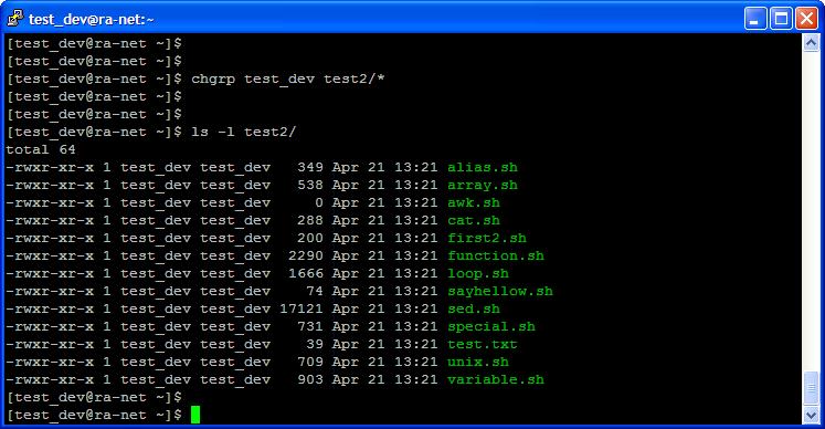 Unix Group Command 51