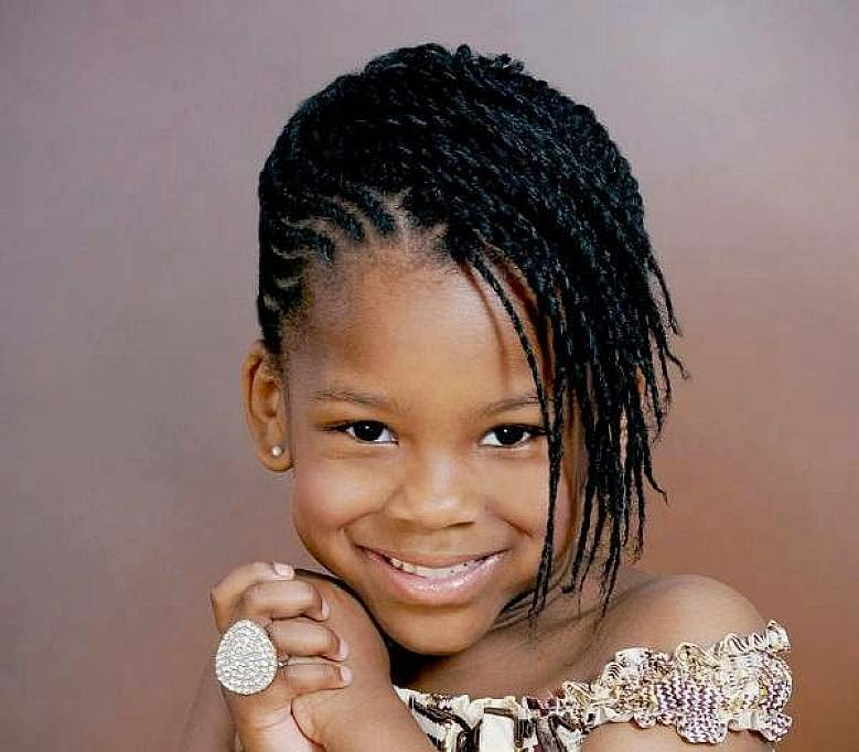 Little Black Girls Hairstyles Trends 2014-2015 For African American ...