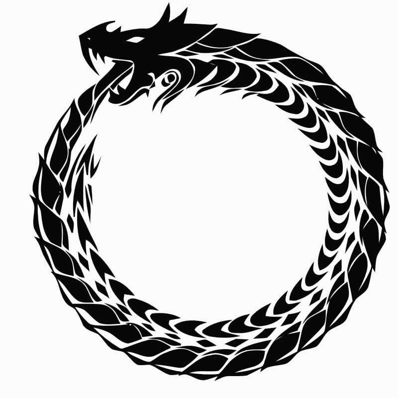 the scribbling sea serpent why an ouroboros