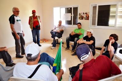 Brasileiros se reunem com lideres da resistencia palestina