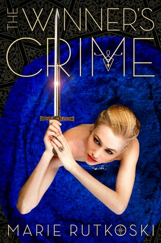 The Winner's Crime Marie Rutkoski book cover