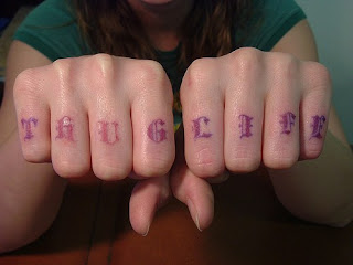 Knuckle Tattoos - Knuckle Tattoo Ideas