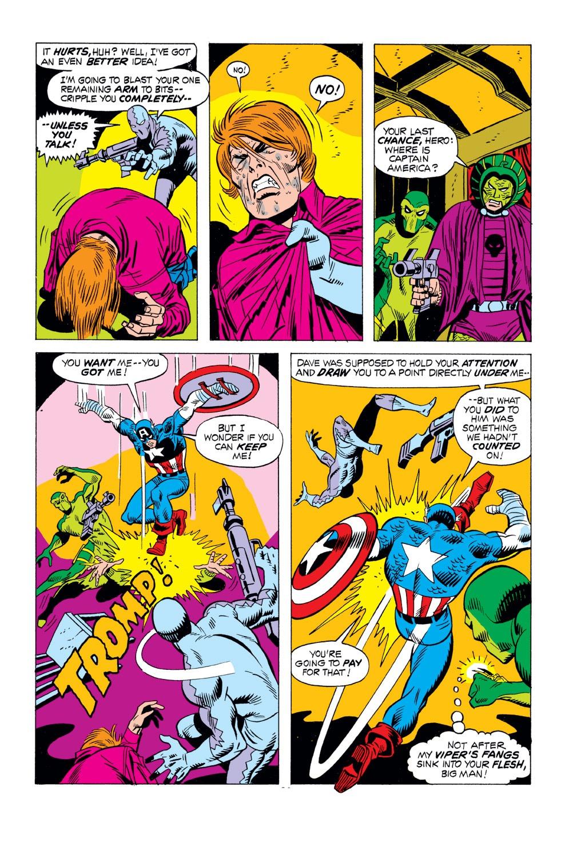 Captain America (1968) Issue #163 #77 - English 16