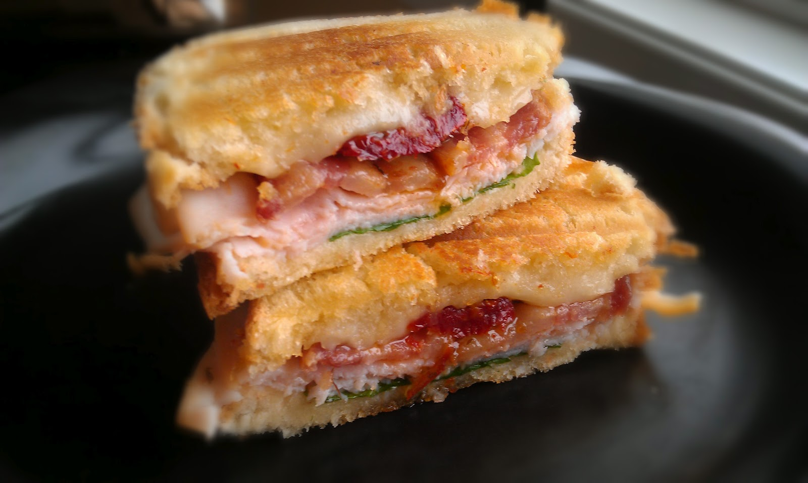 your bacon turkey swiss and bacon panini recipes dishmaps bacon turkey ...