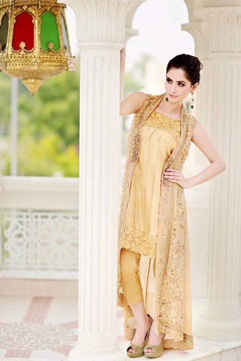 Formal Wear Eid Collection 2013 Suffuse By Sana Yasir 5 wwwfashionwanderersblogspotcom - Suffuse By Sana Yasir Party Dresses 2013 For Women