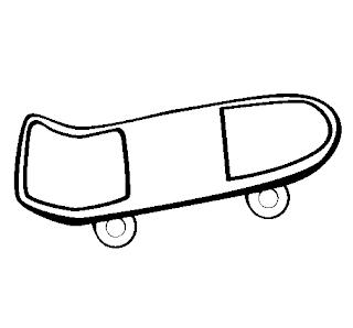 Desenho como desenhar Meninos Skatista   pintar e colorir