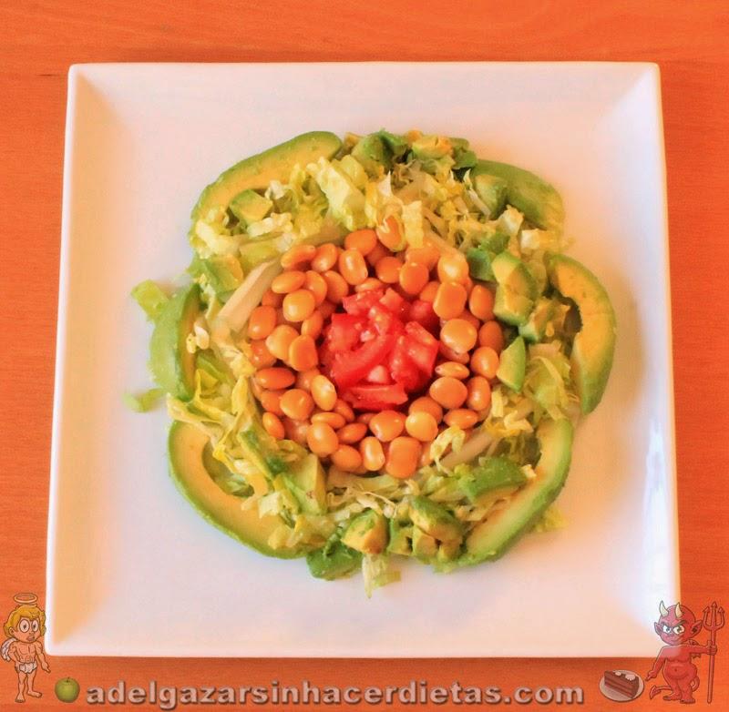 CON VIDEO. Receta saludable de ENSALADA DE ALTRAMUCES, CHOCHOS O TARWI baja en calorías, apta para diabéticos y veganos, baja en colesterol.