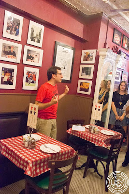 image of Lombardi's pizza with Scott's pizza tours in NYC, New York