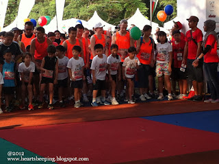 Young runners, 100 plus passion run kids dash