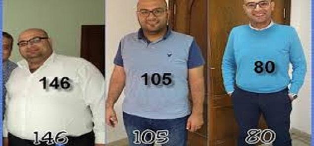 قصة واقعية لشخص فقد 65 كيلو في 7 شهور فقط … تعرف علي السر