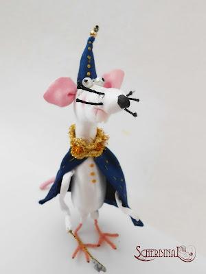 handmade мягкая игрушка крыса