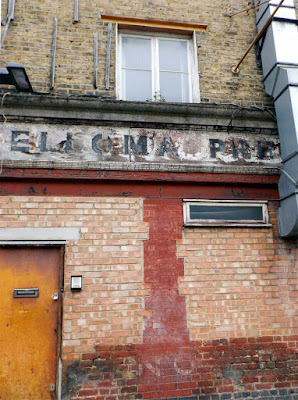 elloma preparations ghost sign stoke newington london