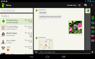 Aplikasi Talkray Android - Aplikasi Chatting Baru