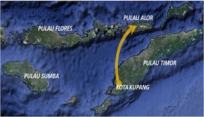 Peta Pulau Alor