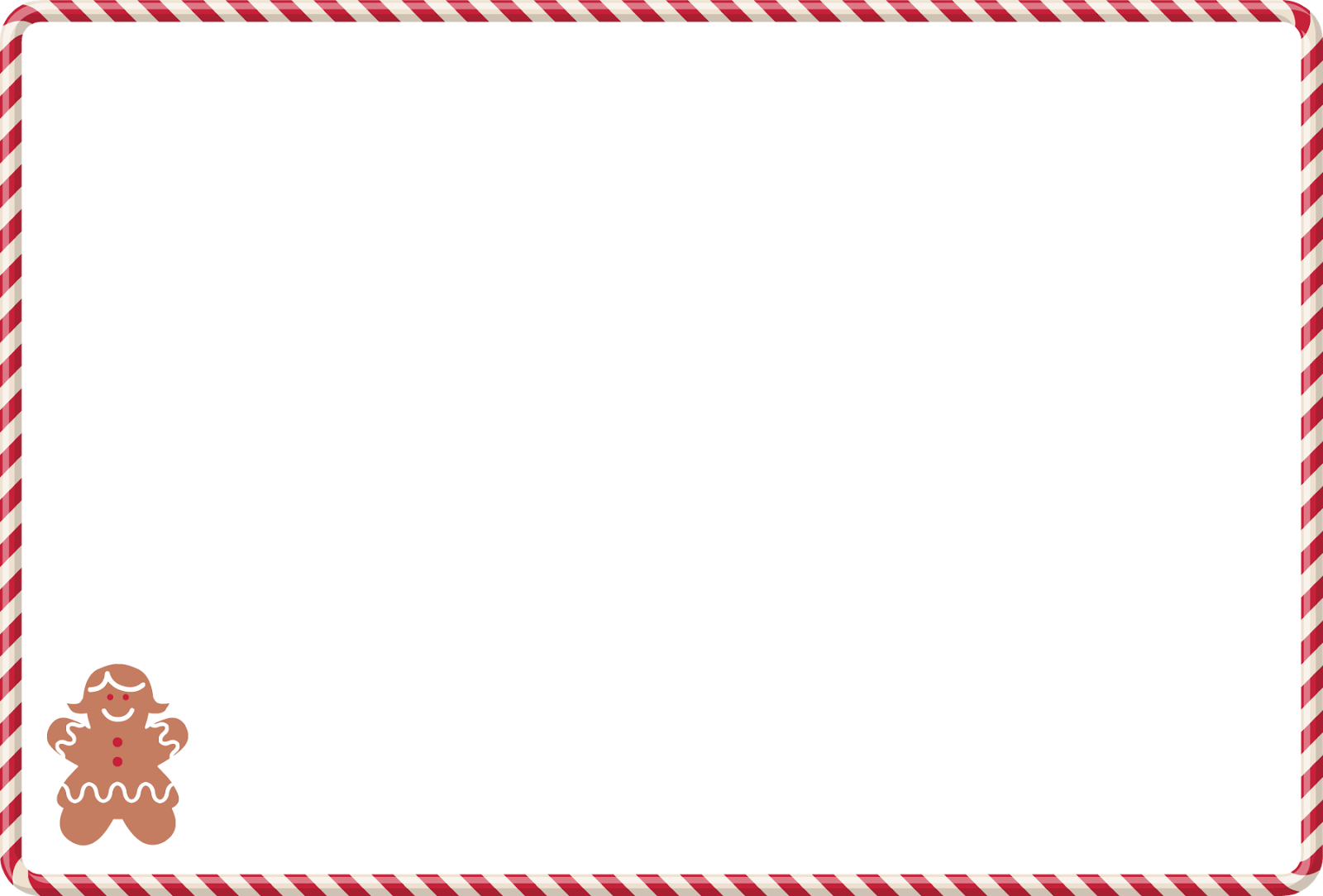 Family Favorite Recipes: Free Christmas Recipe Card Blank