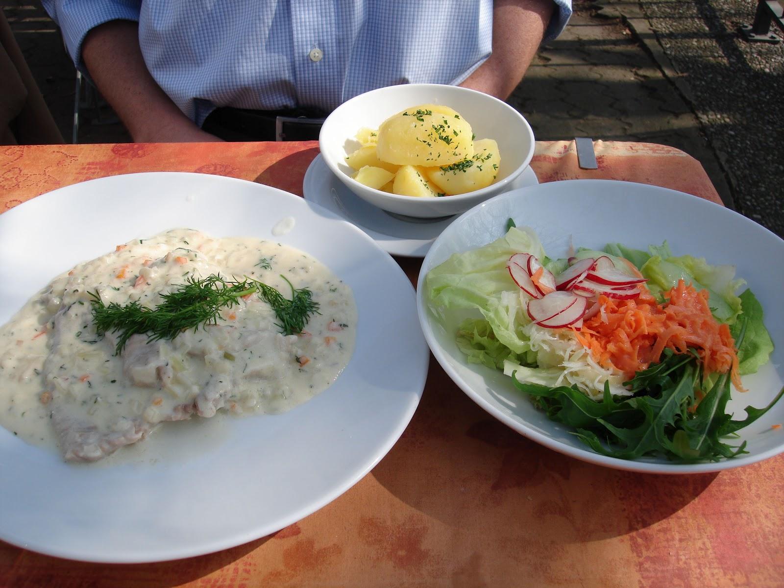 bushcooks kitchen: kleine perle im aischgrund: fischküche reck in