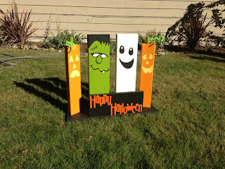 Sowdering About In Seattle Made This Simple Yard Decoration From Scrap