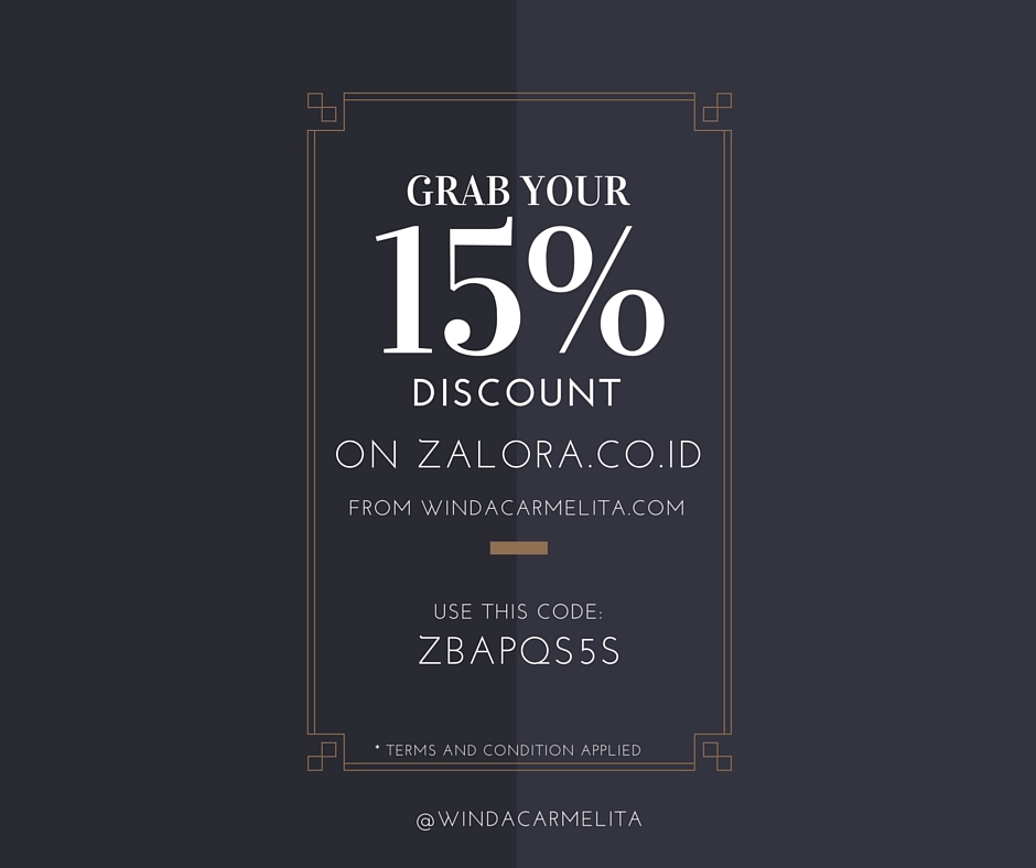 Voucher Diskon 15% Zalora Indonesia