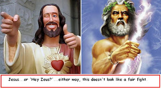 greek mythology zeus vs christianity In the greek flood story, zeus becomes very angry  christianity, greek mythology they all have an  its truth and the bible and greek mythology are only.