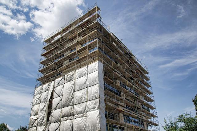Baustelle Wohnhaus, Bernauer Straße 50, 10435 Berlin, 13.07.2013