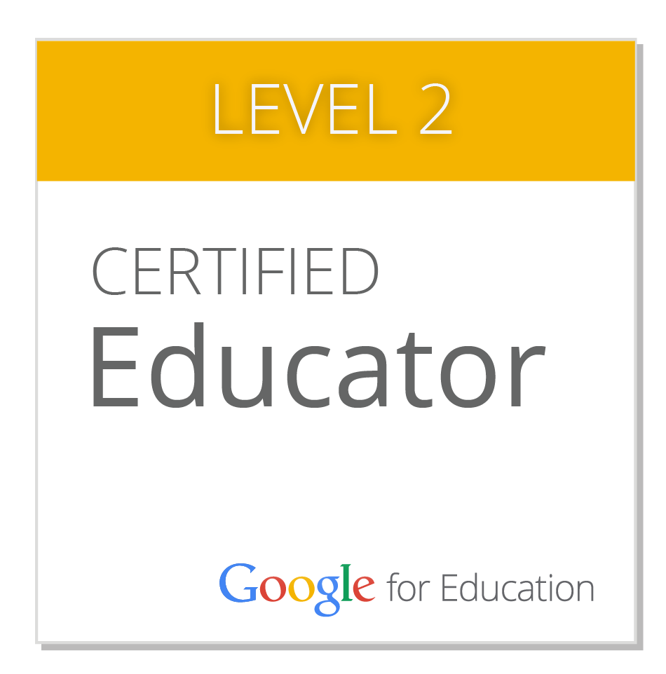 Google Certified Educator, Level 2