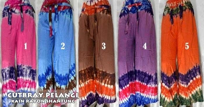 Celana Batik Wanita Model Cutbray Keren Dan Murah