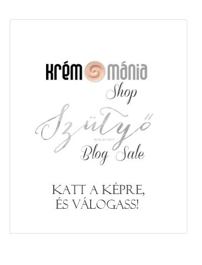 Krémmánia Shop <<>> Szütyő Blog Sale