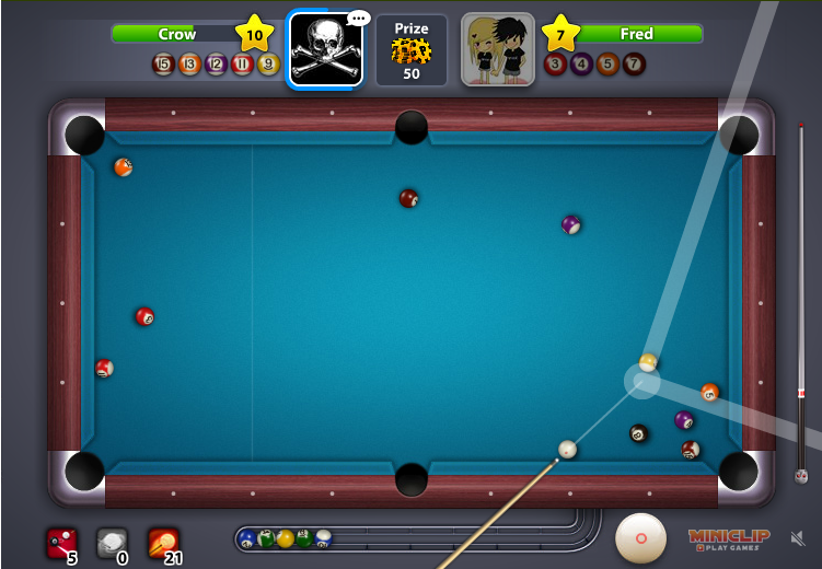 how to hit a shot in 8 ball pool