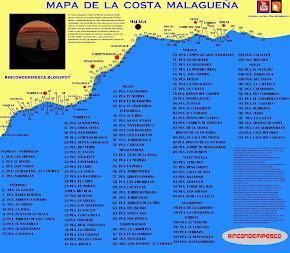 MAPA DE COSTA MALAGUEÑA