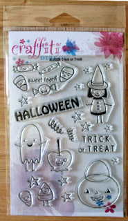 Trick or Treat Clear Stamp Set