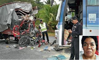 Video Kemalangan Wanita Umno