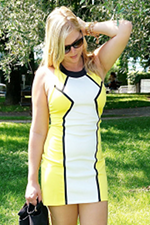 Vacation outfit: Little yellow dress