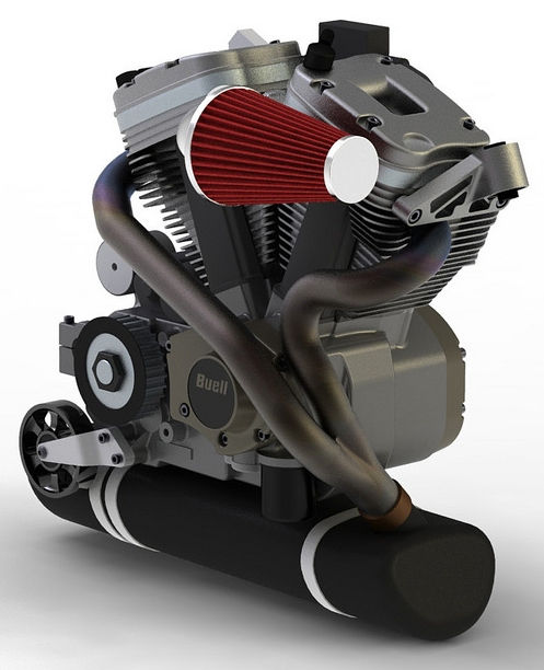 BOTT XR-1 |  BUELL ENGINE | CONCEPT MOTORCYCLE