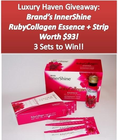 brands innershine rubycollagen essence giveaways