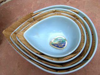 Fire King Swedish Mixing bowls
