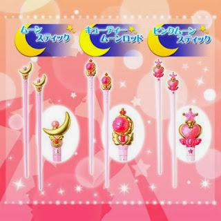 Bandai Membuka Pre Order Sumpit Sailor Moon