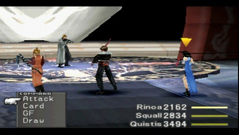 Final Fantasy VIII, Seifer Battle