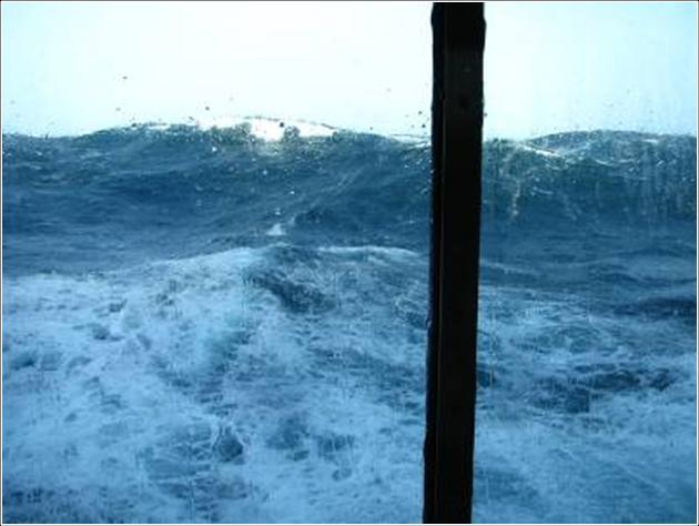 La mala mar que precede el adesastre.