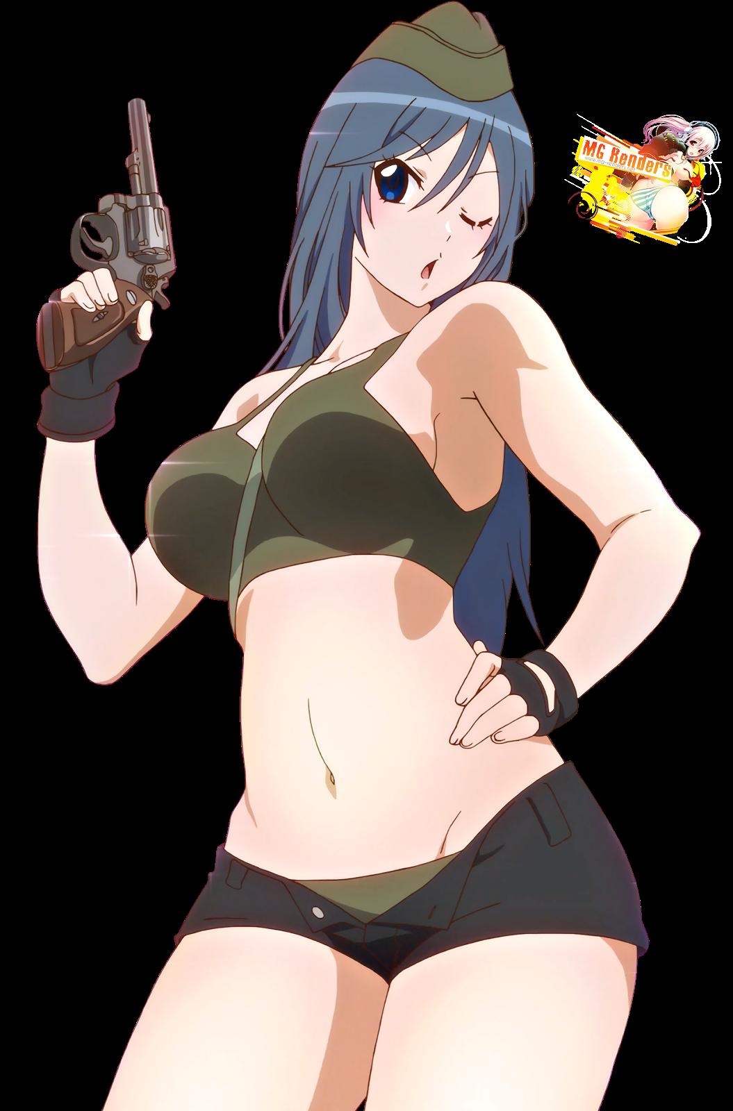 Tags: Anime, Render,  Kyoudou Maya,  Sabagebu!, PNG, Image, Picture