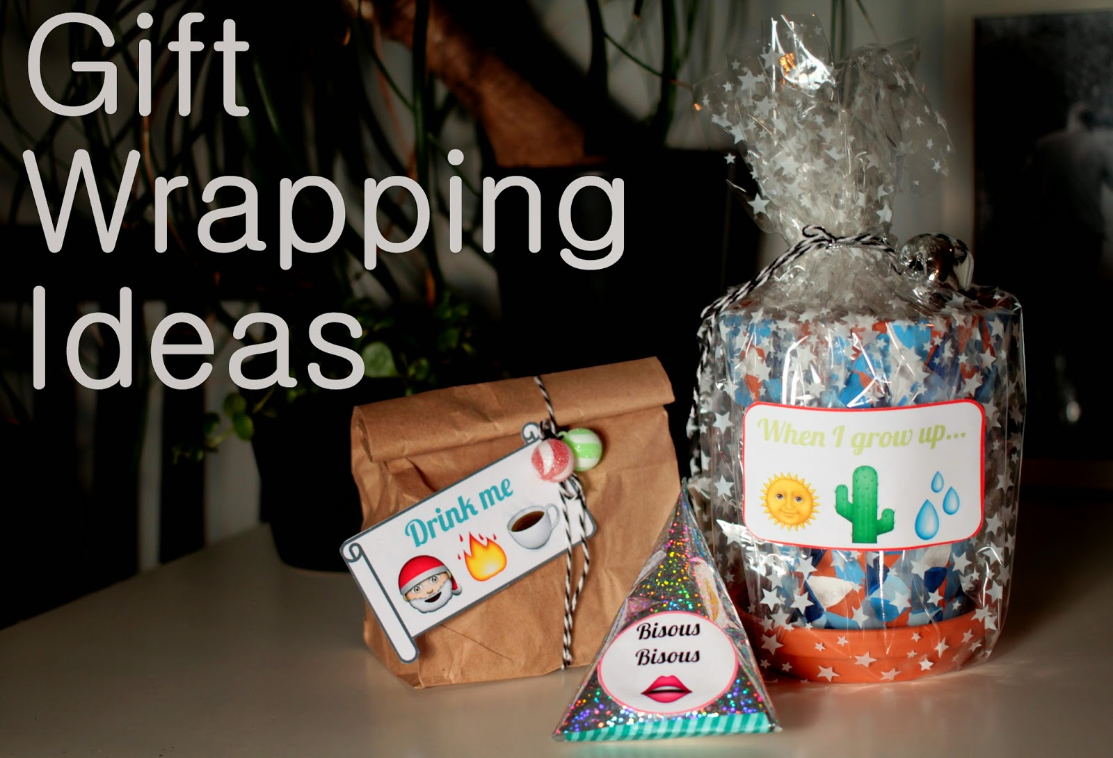 gift wrapping ideas, gift tag ideas, packaging ideas, christmas gift,