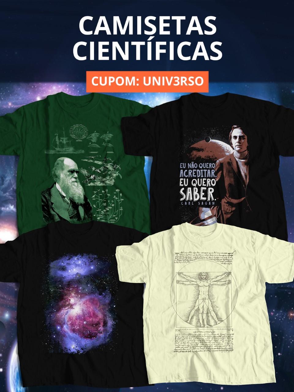 Camisetas científicas