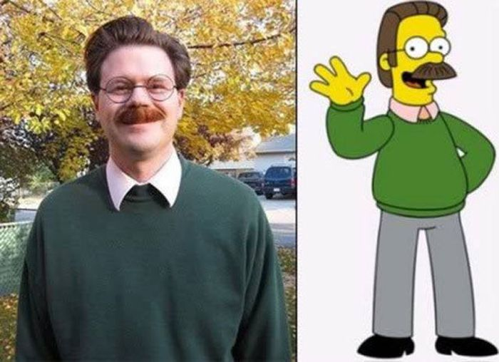 Cartoon Characters Real Life : Damn cool pictures cartoon character doppelgangers in