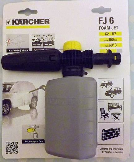 Madhouse Family Reviews: Kärcher Car Cleaning Accessories review