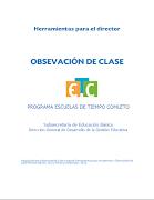 """Heramientas para el Director """"Observación de clase"""" ETC"""
