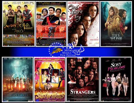 MMFF 2012: 8th Day Gross and Official Box Office Results (Dec 25-Jan 1)