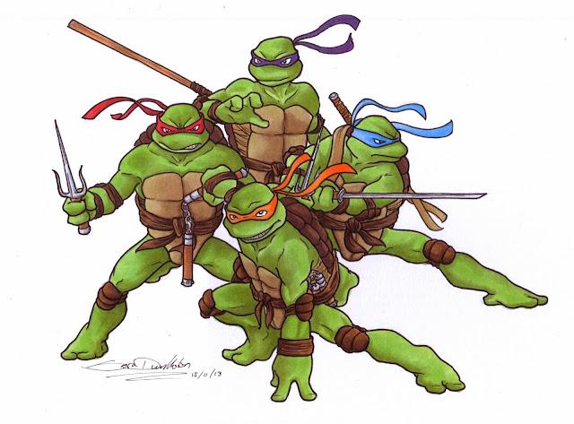 sara dunkerton illustration and animation teenage mutant ninja