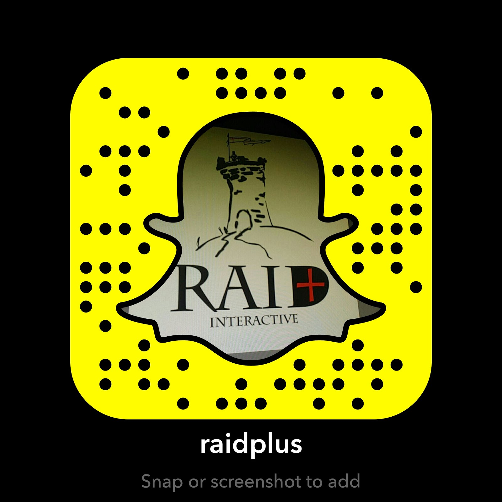 Follow Raid+ on Snapchat!