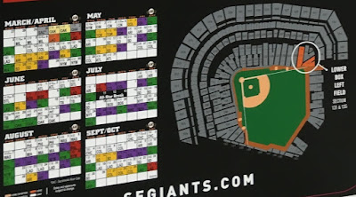 Choose from a number of games at AT&T Park at varying ticket prices for Sections LBLF 131 & 135